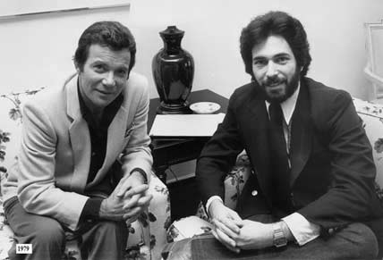 "William Shatner, aka Capt. James T. Kirk, who stopped by in 1979 to talk with me about the first ""Star Trek"" movie and his own UFO experience"